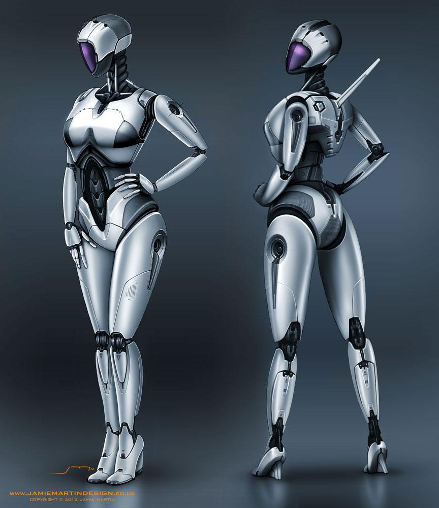 P i t g i r l female robot concept design page 4 p i t g i r l female robot concept design malvernweather Gallery
