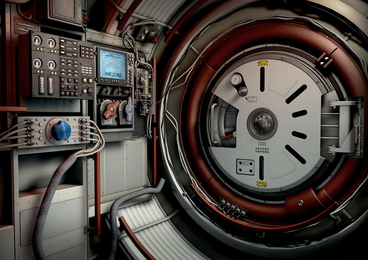 Gravity Scifi Movie Concept Design