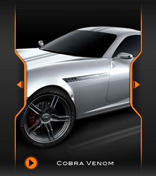 'Cobra Venom' Concept Car Design (3D)