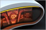 Car Interior Dashboard Concept Design