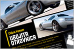 'Cobra Venom' Concept Car Design (Magazine Feature)