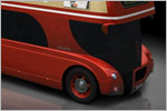 'London Navigator' Bus Concept Design (3D)