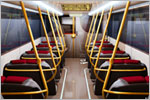 'London Navigator' Bus Interior Concept Design (3D)