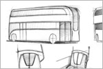 'London Navigator' Bus Concept Design (Sketch)