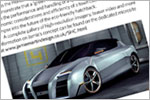 'SHC' Concept Car Design (Magazine Feature)